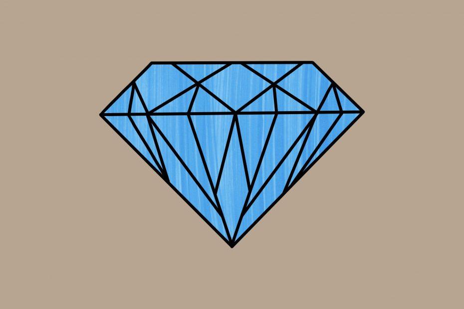 Juweeltje blauw