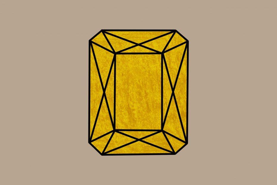 Juweeltje geel