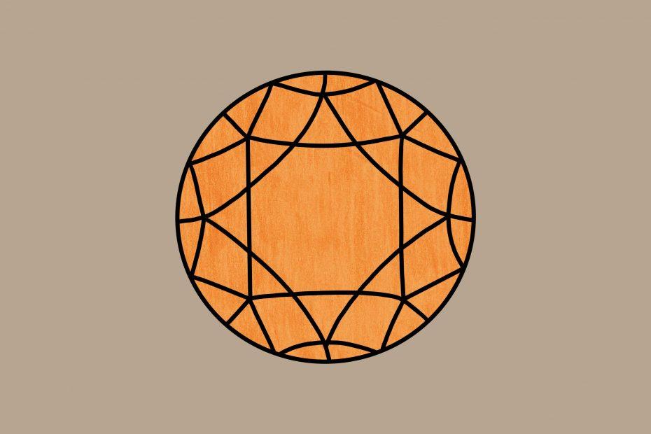 Juweeltje oranje