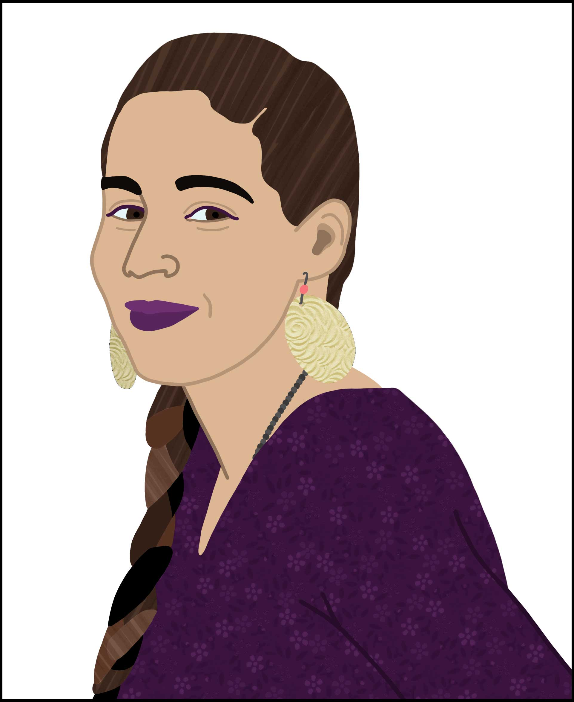 Dementees portret Mariëm Zian